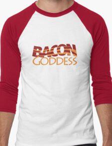 Bacon Goddess Men's Baseball ¾ T-Shirt