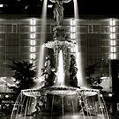Fountain Square, Cincinnati by HeatherMScholl