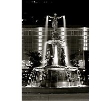 Fountain Square, Cincinnati Photographic Print