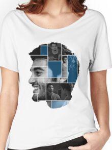 Tyler Hoechlin Face Squares Women's Relaxed Fit T-Shirt