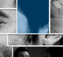 Tyler Hoechlin Face Squares Sticker