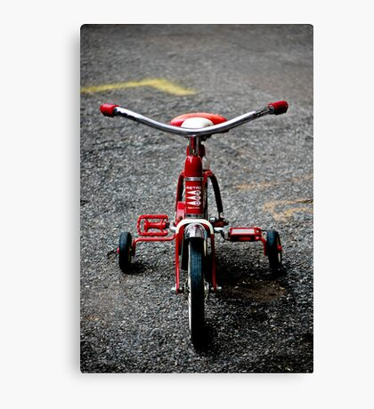 Tricycle Canvas Print
