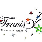 Travis - A Memorial by Lynsye Medalia