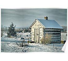 Dark Winters Day Poster