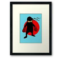 Ninja by Chillee Wilson Framed Print