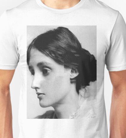 Virginia Woolf in pieces  Unisex T-Shirt