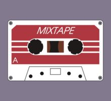 Mixtape Cassette Tape by Chillee Wilson Kids Tee