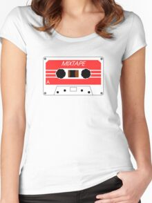 Mixtape Cassette Tape by Chillee Wilson Women's Fitted Scoop T-Shirt