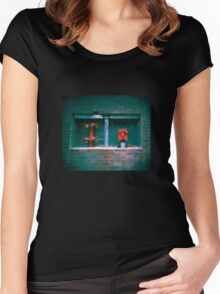 Fire Hydrant Women's Fitted Scoop T-Shirt