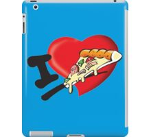 I Love Pizza iPad Case/Skin