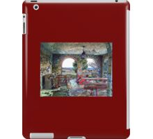 Digital Colouring - beach house summers over iPad Case/Skin