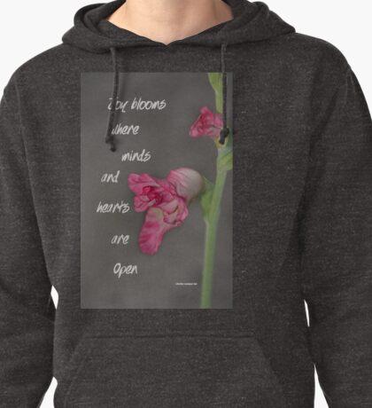 Joy Blooms Pullover Hoodie