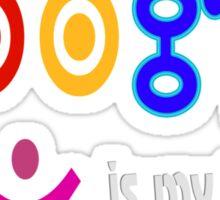 Google is my teacher Sticker