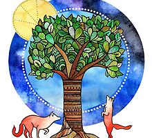 The Tree of Life by amyrosedraws