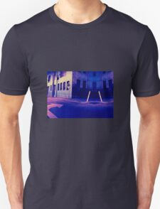 Urban Night Scene 3 Unisex T-Shirt