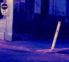 Urban Night Scene 3 Sticker