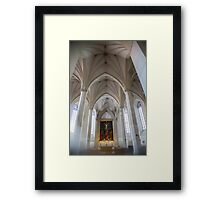 Estonia. Tallinn. St. Olaf's Church. Interior. Framed Print