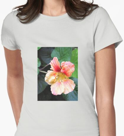 Single bloom Womens Fitted T-Shirt