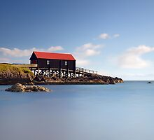 Dunaverty Boathouse by Grant Glendinning