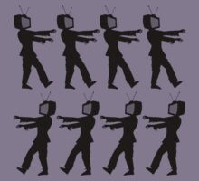 March of the Zombie TV Guys by Chillee Wilson Kids Clothes
