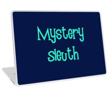 Mystery Sleuth by Chillee Wilson Laptop Skin