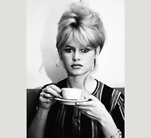 Brigitte Bardot coffee time Unisex T-Shirt