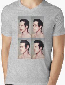4 square Mens V-Neck T-Shirt