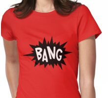 Cartoon Bang by Chillee Wilson Womens Fitted T-Shirt