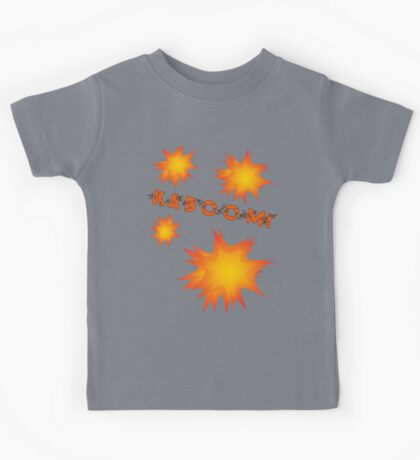 KABOOM by Chillee Wilson Kids Tee