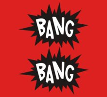 Cartoon Bang Bang by Chillee Wilson by ChilleeWilson