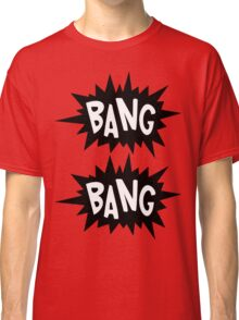 Cartoon Bang Bang by Chillee Wilson Classic T-Shirt