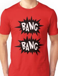Cartoon Bang Bang by Chillee Wilson Unisex T-Shirt
