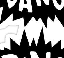 Cartoon Bang Bang by Chillee Wilson Sticker