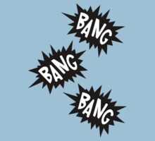 Cartoon Bang Bang Bang by Chillee Wilson Kids Clothes