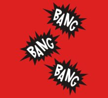 Cartoon Bang Bang Bang by Chillee Wilson by ChilleeWilson