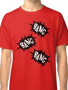 Cartoon Bang Bang Bang by Chillee Wilson Classic T-Shirt