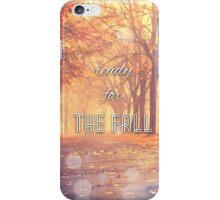 The Fall Lyrics iPhone Case/Skin