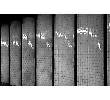 Tiled Fluting Photographic Print