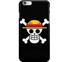 One Piece Drapeau Luffy iPhone Case/Skin