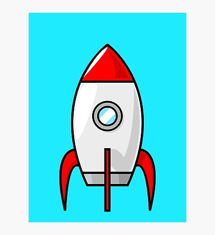 Rocket Ship by Chillee Wilson Photographic Print