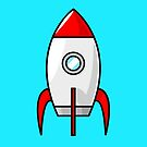 Rocket Ship by Chillee Wilson by ChilleeWilson