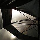 Umbrella at the Beach by Carin Fausett