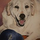 Saffy, the Labrador by Pauline Winwood