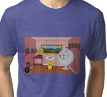 Oxfam is the best for interior design Tri-blend T-Shirt