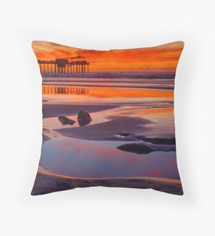 Mirror of the Sky Throw Pillow