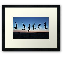 Oh What a Feeling! Framed Print