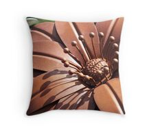 Metallica Flora  Throw Pillow