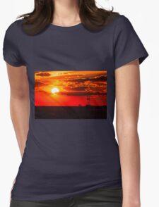 18 November Sunset Womens Fitted T-Shirt