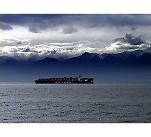 Nearing Port Photographic Print