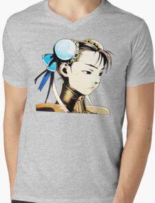 Chun-Li Mens V-Neck T-Shirt